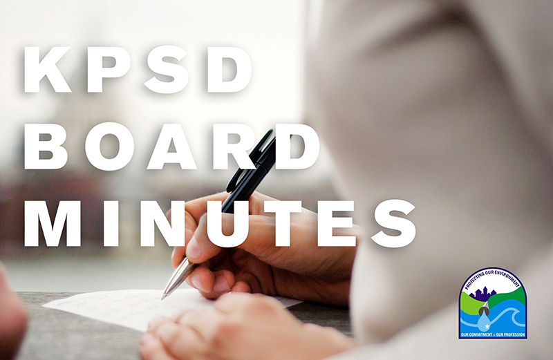 KPSD Board Meeting March 11, 2019