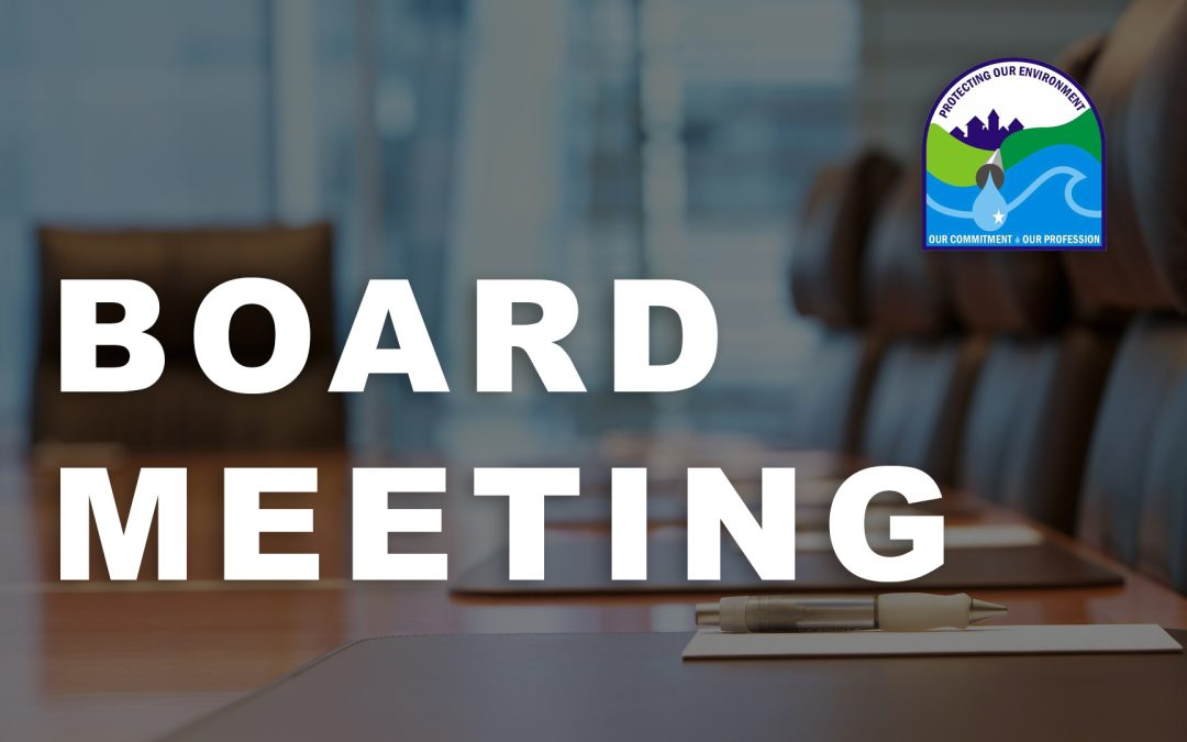 Board Meeting Agenda – July 13, 2020